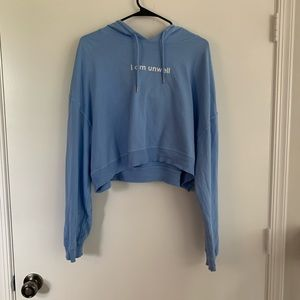 Call Her Daddy Cropped Hoodie